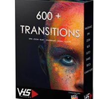VHS 600+ Final Cut Transitions
