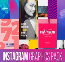 Instagram Graphics Pack for Final Cut Pro