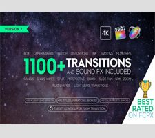 VH – Transitions and Sound FX + Bonus V7 for Final Cut Pro X