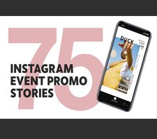 75 Insta Event Promo Stories for Final Cut Pro