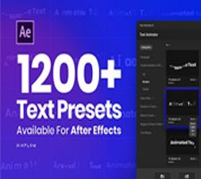 Text Animator One Click Text Presets