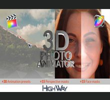 3D Photo Animator for Final Cut Pro